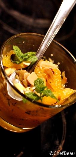 Salade d'orange orientale (mini18)